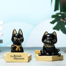 Egypt Series Mobile Display Stand Creative Egyptian God Cat