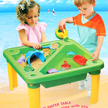 Summer Large Red Beach Table Toy Set Sand Bucket Bathroom Bath Play Water Sand Digging Sand Tool Shovel Play Sand Suit фото