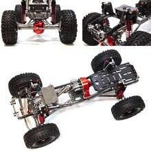 1/10 Universal 313 Wheelbase Frame CNC Full Metal for TRX4 SCX10 RC Car
