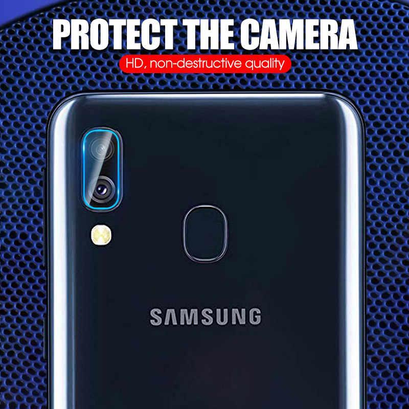 Câmera traseira vidro temperado para samsung galaxy a50 a40 a70 a7 750 2018 a20 a30 câmera macia len filme ultra-fino filme temperado