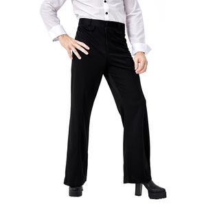 Image 5 - Adulte hommes Vintage 70s Disco Costume botte coupe pantalon tenue de fête déguisement dhalloween