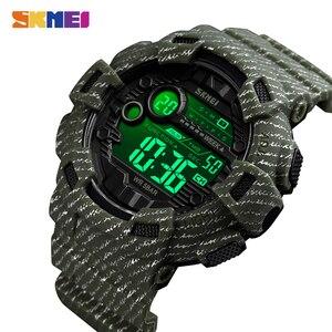 Image 2 - 2020 SKMEI עמיד למים שעון דיגיטלי זוהר חיצוני צבאי קאובוי ספורט גברים שעוני יד Relogio Masculino reloj hombre 1472