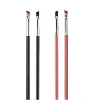 2PCS Fiber Eyebrow Brush Concealer Makeup Brushes Eyebrow Eyeliner Beauty Essentials Cosmetic Brushes Set  Make Up Brush Tool