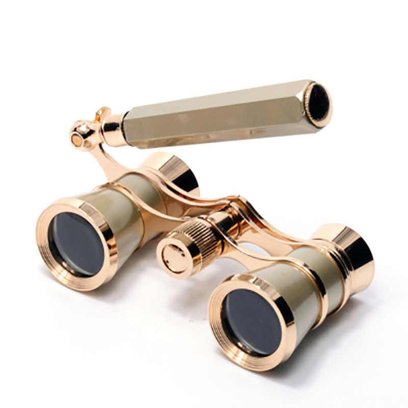 Nanoo 8 Arten 3X25 Konzert Fernglas Mit Griff/Kette für Frauen Opera Theater Horse Racing Elegante Mode teleskop Geschenke