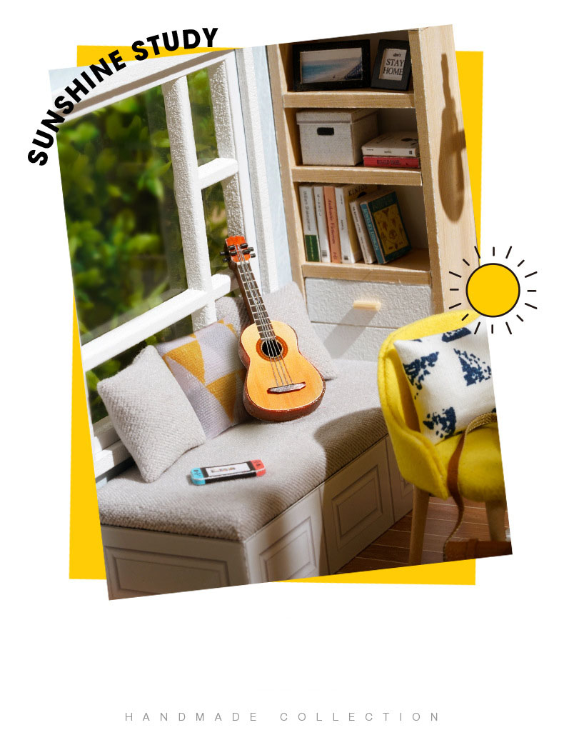 Hbe4cd15228ef4a248fa4a9ffed19a106w - Robotime - DIY Models, DIY Miniature Houses, 3d Wooden Puzzle