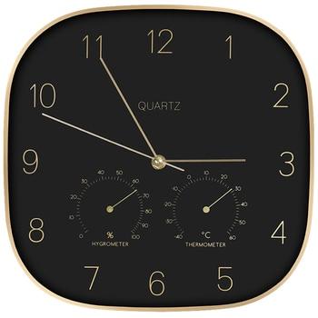 Luxury Nordic Wall Clocks European Digital Silent Wall Clocks Square Abstract Modern Design Duvar Saat Unique Wall Clock AA50WC