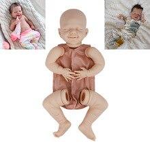 Реалистичная кукла-младенец, Реалистичная пустая кукла «сделай сам», комплект для новорожденных, кукла-младенец, незакрашенные части куклы...