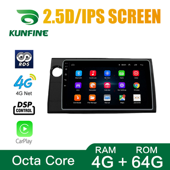 Octa Core Android 10.0 Car DVD GPS Navigation Player Deckless Car Stereo For Honda BRV 2015 RHD/LHD Radio Device Headunit WIFI image