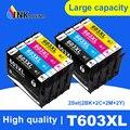 INKARENA 603xl T603 E603 603 XL заменить Epson картридж с чернилами для принтера Epson XP2100 XP2105 XP3100 WF-2830 XP4100 XP4105 WF-2835