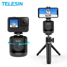 TELESIN Smart Shooting Gimbal Selfie 360° Auto Object Tracking For GoPro Insta360 Osmo Action Smartphone Camera Vlog Live