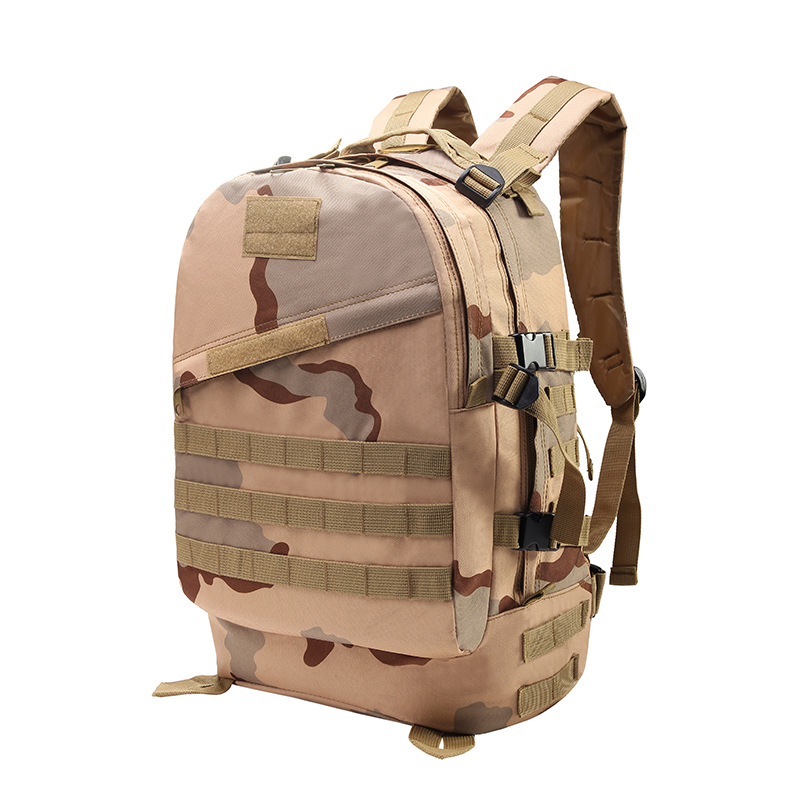 Waterproof Oxford Student Bag Outdoor Backpack Men Tactical Bag Backpack Army Camouflage Outdoor 3D Sports Backpack
