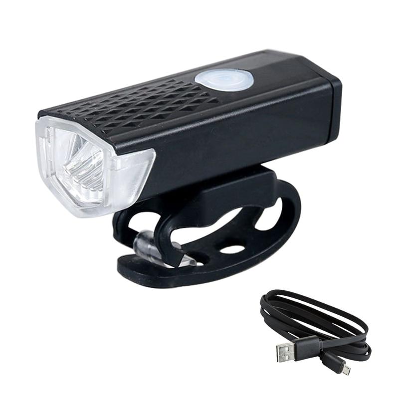 Велосипедный светильник, перезаряжаемый через USB, 300 люмен, 3 режима, велосипедный передний светильник, фара для велосипеда, светодиодный фонарь для езды на велосипеде|Велосипедная фара|   | АлиЭкспресс