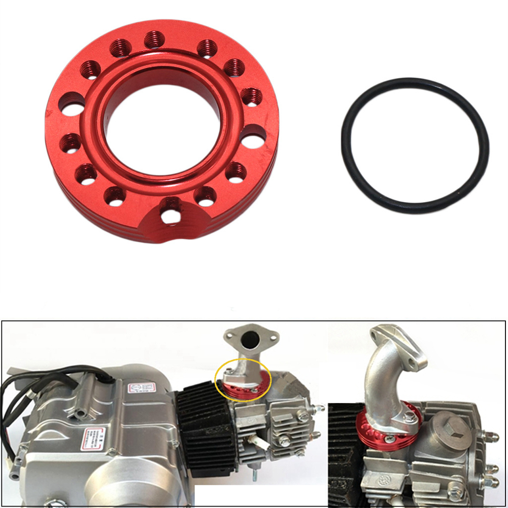 28mm Motorcycle Replacement Parts Durable Manifold Spinner Plate 90cc 110cc 125cc Off Road Vehicle Buggy Carburetor Intake