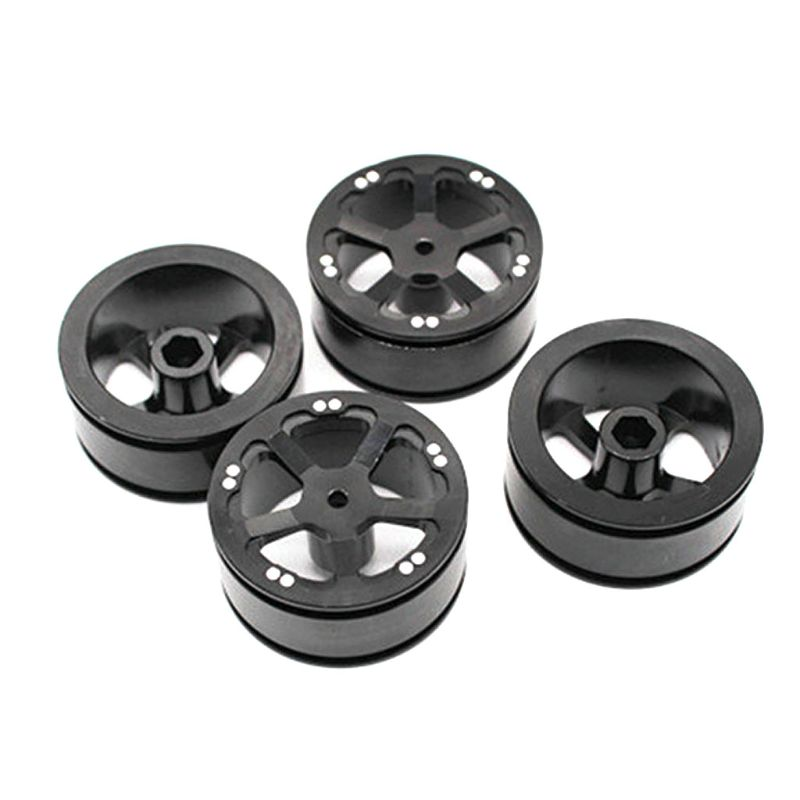 4 Pcs Upgrade Rubber Tires Wheels Spare Parts for WPL 1/16 B14 B16 B24 B36 C14 C24 RC Car Truck|Parts & Accessories| |  - title=