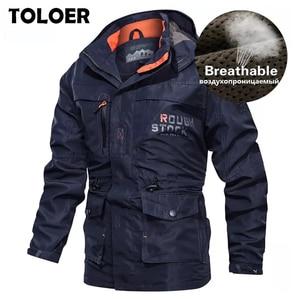 Breathable Bomber Jacket Men 2020 Spring Autumn Multi-pocket Military tactical Jackets Windbreaker Mens Coat Outdoor Stormwear(China)