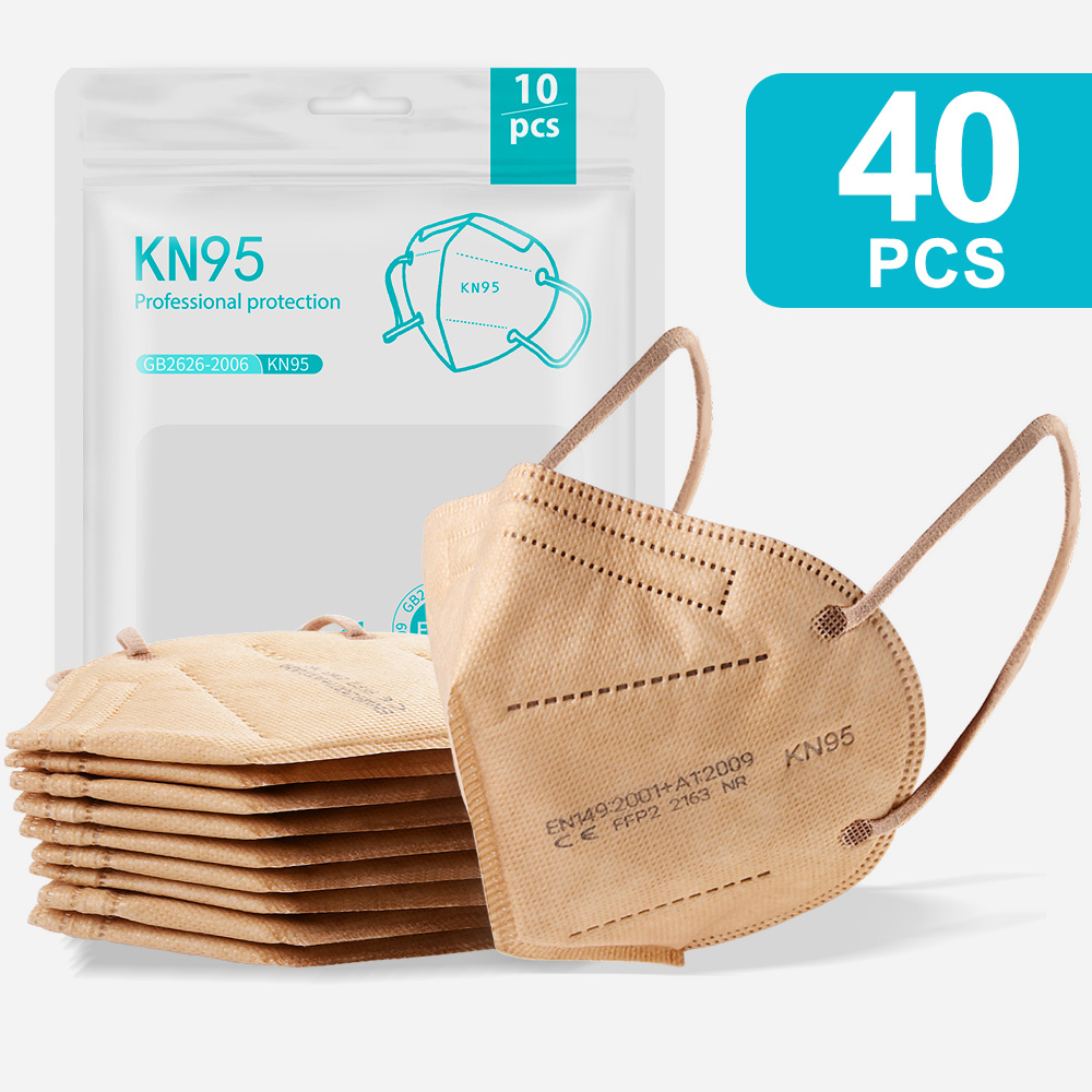 4PCS Gold-KN95