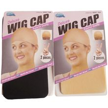 Wig Cap Wig-Cap Nude Hair-Net Snood Stretchable Deluxe-Dream Elastic Black 30pieces 15-Packs