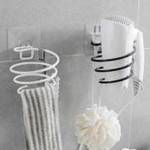 Бытовая ванная фен настенная полка стеллаж настенный подставка