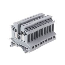 10Pcs/set UK-2.5B Universal Panel Mount Screw Terminal Block PCB Din Rail Wiring Connector Terminals
