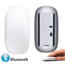 Bluetooth Wireless Magic Mouse Slim Arc Touch Mouse Ergonomic Optical USB Computer Ultra-thin BT 3.0 Mice For Apple Mac PC(China)