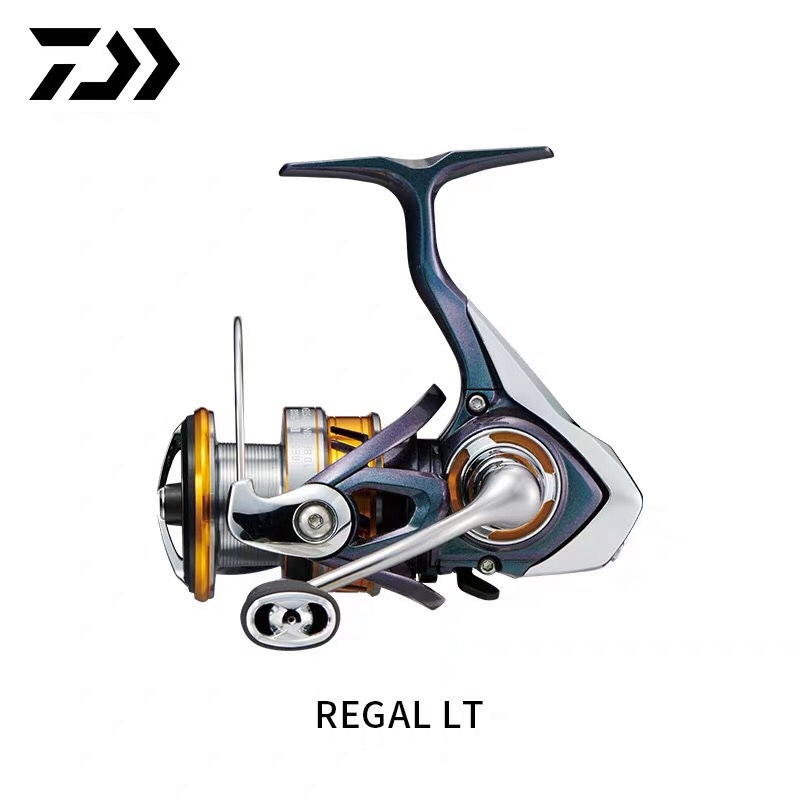 2019 DAIWA REGAL LT Spinning Fishing Reel 10BB Aluminum Alloy Handle Deep Spool Carbon Light Material Fishing Reel Tackle Pesca