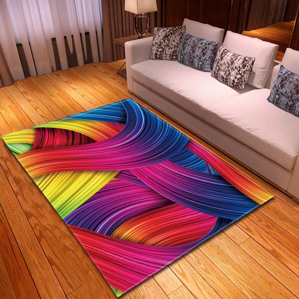 Modern Living Room Carpet 3D Children Rug Kids Room Floor Decoration Large Carpet Home Hallway Bedroom  Bedside Mats