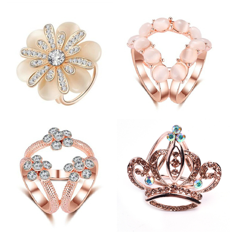 2020 nova moda tricyclic flor cristal cachecol titular clipe de broche de seda retro olho de gato pedra broches de flor pinos jóias