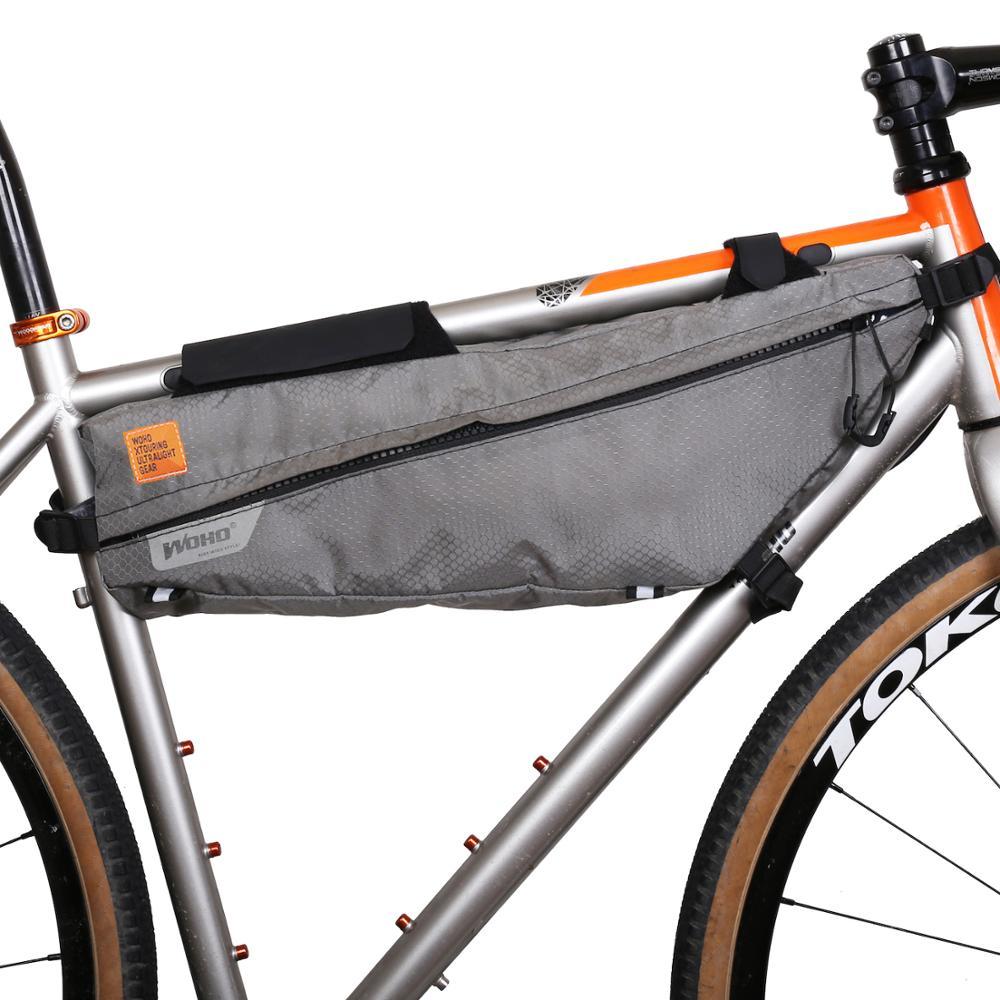 /gran tri/ángulo marco bolsa bicicleta ciclo bicicleta/ Viajes/ /3/litros capacidad GO