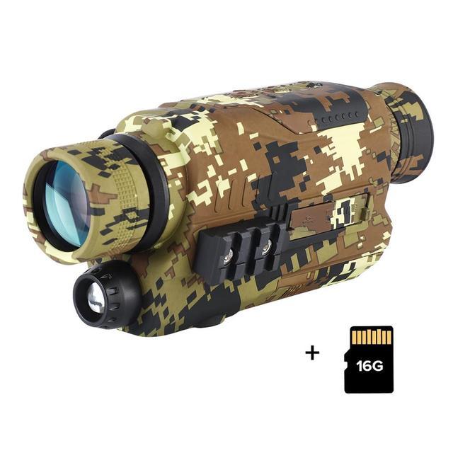 Night Vision Device Monoculars 300 Yards Digital IR Telescope Scope 5x32 Optics Photos Video Recording Camouflage Hunting Camera 1