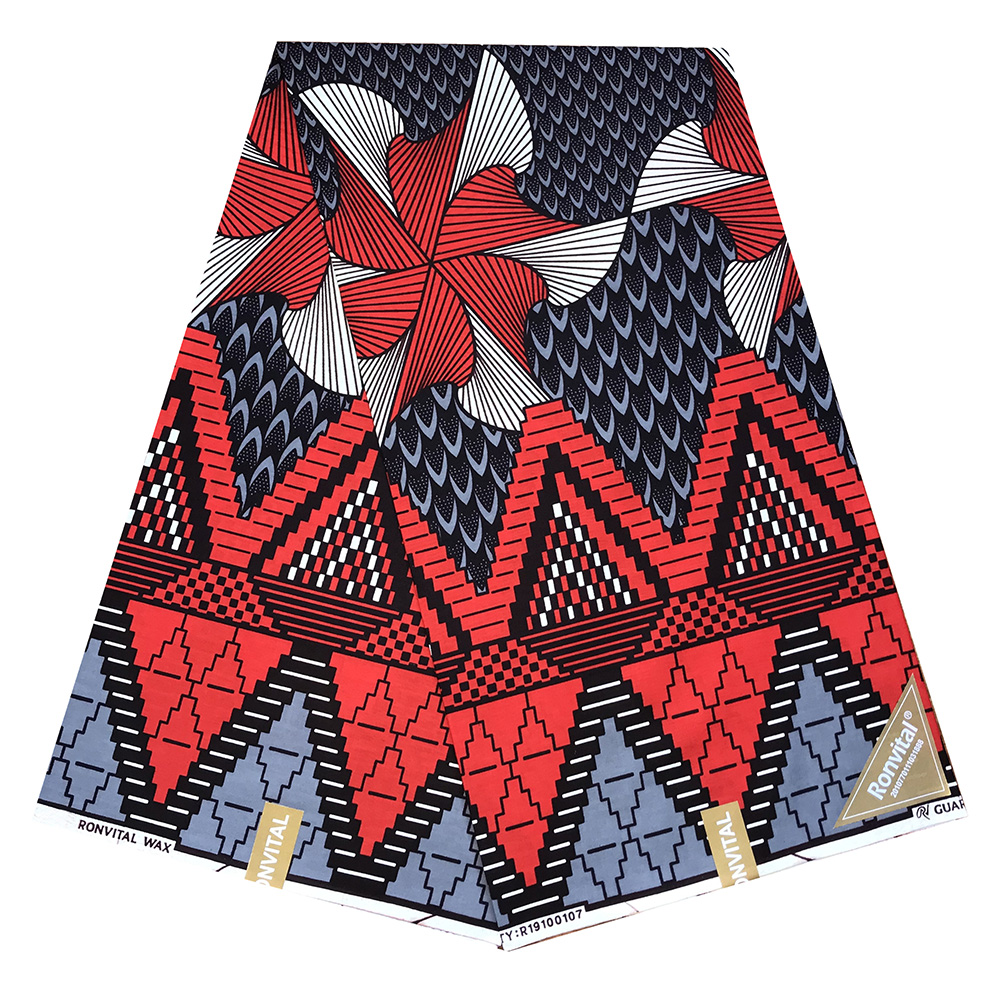 African Wax 100% Cotton Veritable Wax Guaranteed Real Dutch Wax High Quality Pagne 6yard African Ankara Sewing Fabric