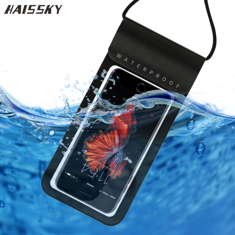 Swimming Bag Sealed Real Waterproof Case For IPhone 11 Pro XS Max X XR 6 7 8 Plus Samsung S20 S10 Note 10 Water Proof Phone Case
