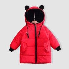 цена на Baby Girls boys Jacket 2019 Autumn Winter Jacket For boy Coat Kids thicken Warm Outerwear Coat For Girls Clothes Children Jacket