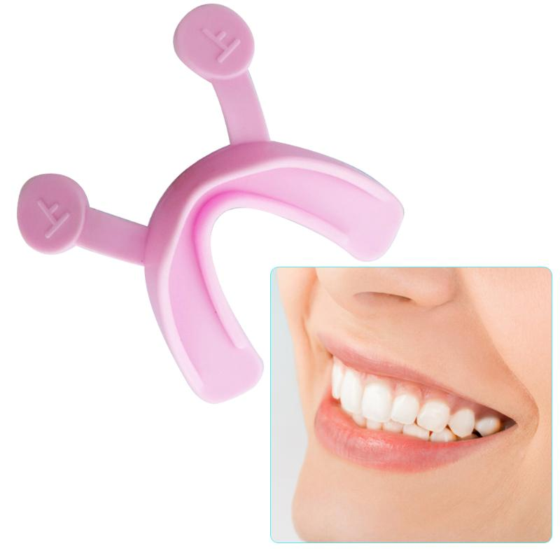 Plastic Face Line Muscle Stretching Lifting Training Mouth Smile Maker Corrector Trainer Brace Facial Beauty Tools