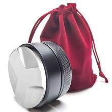 Distribuidor de café, distribuidor de café, ferramenta de distribuição de café profissional espresso tampas de mão 51/53/58mm