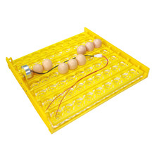 Bandeja de volta 63 ovos para incubadora, equipamento de incubadora para aves e outros patinetes, seta automaticamente