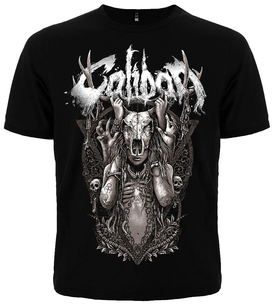 T-shirt CALIBAN German metalcore group. New, different size. A metal nation band Stranger Things Print T-Shirts Original image