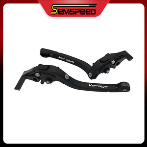 For KAWASAKI VERSYS 1000 Versys1000 2015 2016 2017 2018 2019 SEMSPEED Motorcycle CNC Adjustable Foldable Brake and Clutch Levers