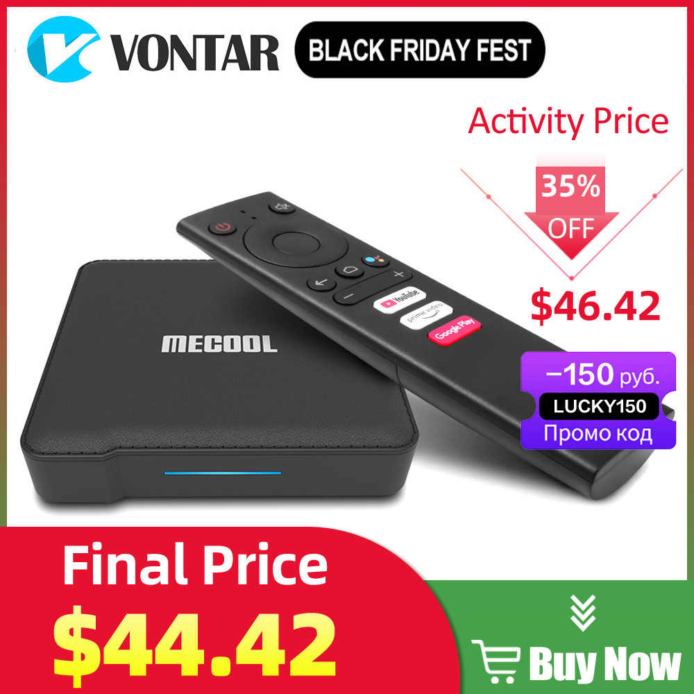 KM1 TV Box Android TV 4GB 64GB Amlogic S905X3 Android 10.0 2.4G/5G Wifi  Widevine L1 Google Play Prime Video 4K Voice Set Top Box Set-top Boxes