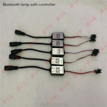 Bluetooth lamp with controller DC5-12V RGB Wireless BLE4.0 Magic lantern with GS1903 WS2812 WS2811 SK6812 SM16703 UCS803