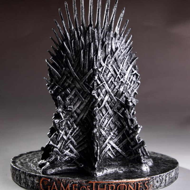 TV Game of Thrones Iron Throne Chair Figure Model Toys Collectible gift New