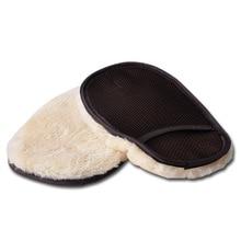 Полировка автомобиля воск имитация кашемировые перчатки шерсть мягкие перчатки для мытья автомобиля Чистящая Щетка Автомобильная перчатка для чистки автомобиля