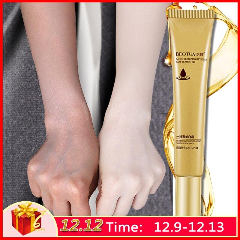 Strong Effects Whitening Face Cream Pure Collagen Remove Melasma Pigment Melanin Repair Anti Aging Essence Moisturizing Skin