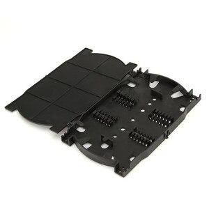Image 3 - 10 stk/partij 12 Cores 24 Cores Fiber Optic Splice Lade voor FTTH Glasvezel Beëindiging Doos