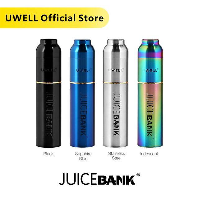 UWELL Banco de zumo de gran capacidad, 15ml, fácil de llevar y rellenar, accesorios para cigarrillo electrónico