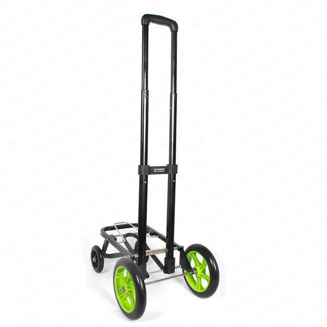 Cart Folding Hand Carts Increase Wheel