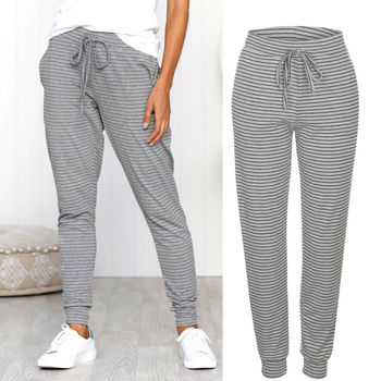 Womens High Waist Stretch Skinny Solid Color Bowknot Pencil Pants Trousers Denim Leggings Jeggings