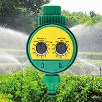 New 2Pcs Automatische Garten Bewässerung Timer Ball Ventil Controller System mit Elektronische LCD Display Home Garten Bewässerung Steuerung Garten-Wassertimer    -