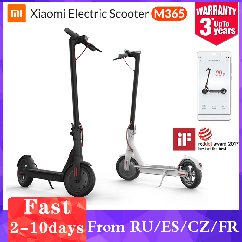 MI Original XIAOMI MIJIA m365/pro powerful adult electric scooter kick scooter electric skateboard e bike bicycle for children