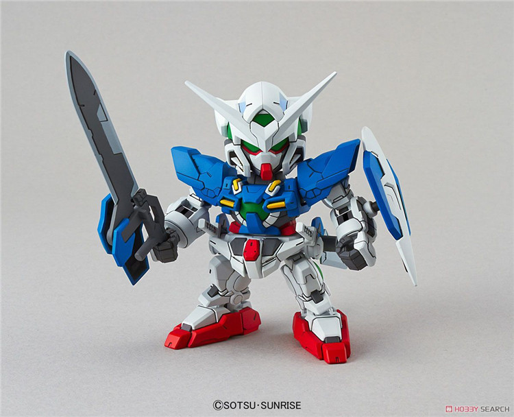 <font><b>Gundam</b></font> 02753 SD <font><b>BB</b></font> EX Standard Exia Mobile Suit Assemble Model Kits Action Figures Children's toys (38 image