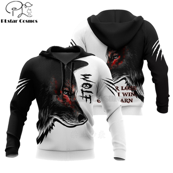 Wolf Printed Hoodies Men 3d Hoodies Brand Sweatshirts Jackets Quality Pullover Fashion Tracksuits Animal Streetwear Out Coat-3 plstar cosmos new 3d printed hoodies sweatshirts men women funny clothes pullover coat brand tracksuits suicide boy hoodies